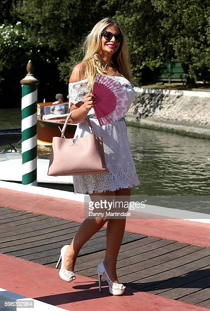Francesca Cipriani attends the 73rd Venice Film Festival on August 31 2016 in Venice Italy