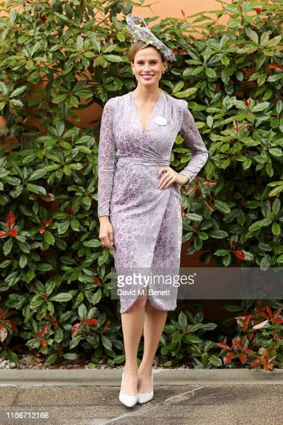 Francesca Cumani attends day 1 of Royal Ascot at Ascot Racecourse on June 18 2019 in Ascot England