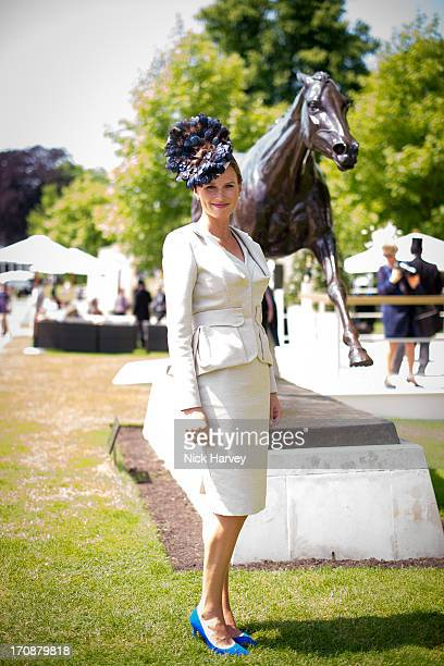 Francesca Cumani attends Day 2 of Royal Ascot at Ascot Racecourse on June 19 2013 in Ascot England