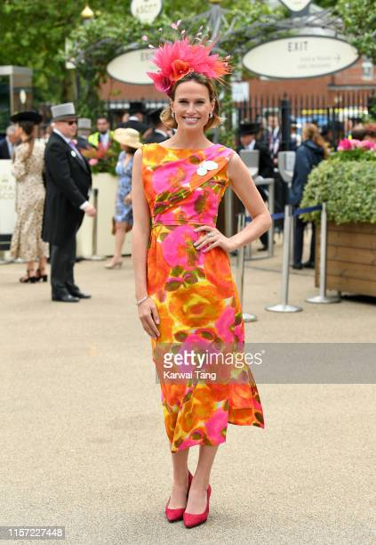 Francesca Cumani attends day three Ladies Day of Royal Ascot at Ascot Racecourse on June 20 2019 in Ascot England