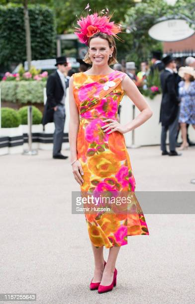Francesca Cumani attends day three, Ladies Day, of Royal Ascot at Ascot Racecourse on June 20, 2019 in Ascot, England.