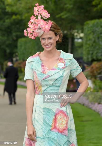 Francesca Cumani attends day two of Royal Ascot at Ascot Racecourse on June 19 2019 in Ascot England