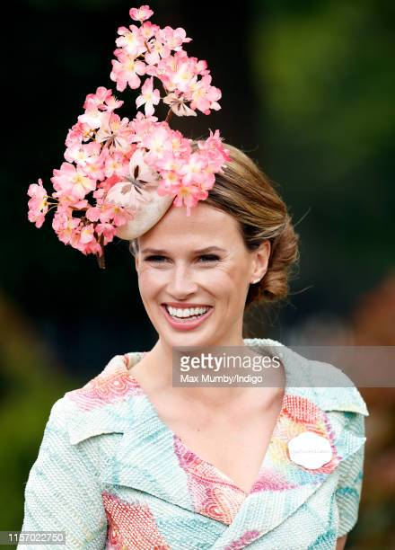 Francesca Cumani attends day two of Royal Ascot at Ascot Racecourse on June 19, 2019 in Ascot, England.