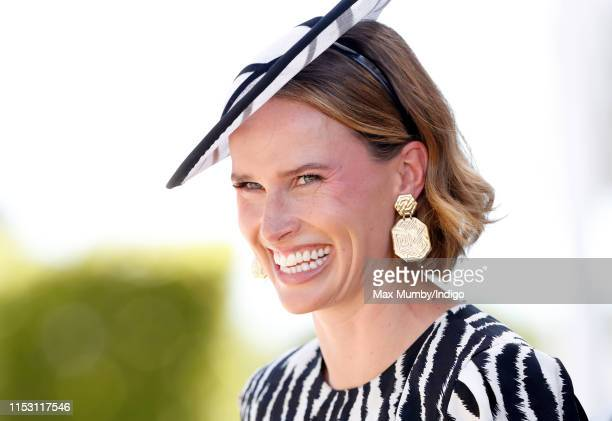 Francesca Cumani attends 'Derby Day' of the Investec Derby Festival at Epsom Racecourse on June 1 2019 in Epsom England