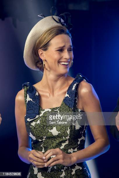 Francesca Cumani during the Birdcage Marquee Preview Day ahead of the Melbourne Cup Carnival on October 31 2019 in Melbourne Australia