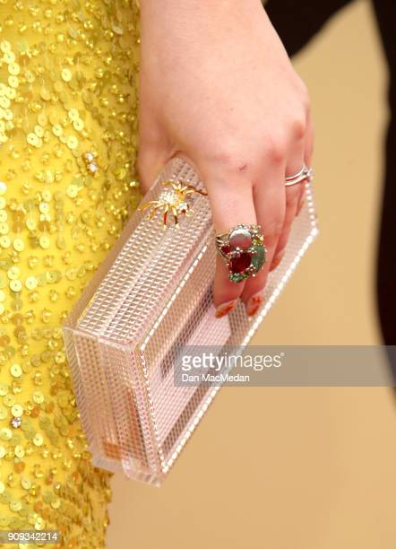Francesca Curran arrives at the 24th Annual Screen Actors Guild Awards at The Shrine Auditorium on January 21 2018 in Los Angeles California