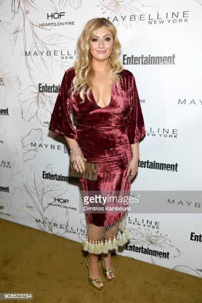 Francesca Curran attends Entertainment Weekly's Screen Actors Guild Award Nominees Celebration sponsored by Maybelline New York at Chateau Marmont on...