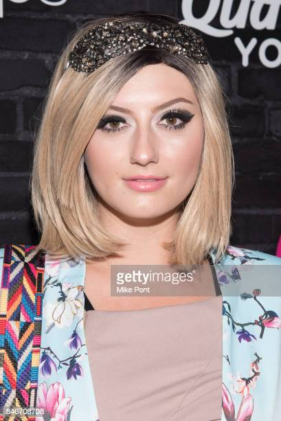 Francesca Curran attends OK Magazine's Fall Fashion Week 2017 Event at Hudson Hotel on September 13 2017 in New York City