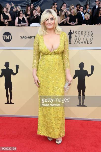 Francesca Curran attends the 24th Annual Screen ActorsGuild Awards at The Shrine Auditorium on January 21 2018 in Los Angeles California