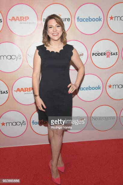 Francesca De Quesada Corey arrives at the People en Espanol's 25 Most Powerful Women Luncheon 2018 on March 16 2018 in Miami Florida