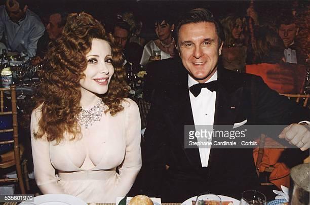 Francesca Dellera with Alberto Repossi