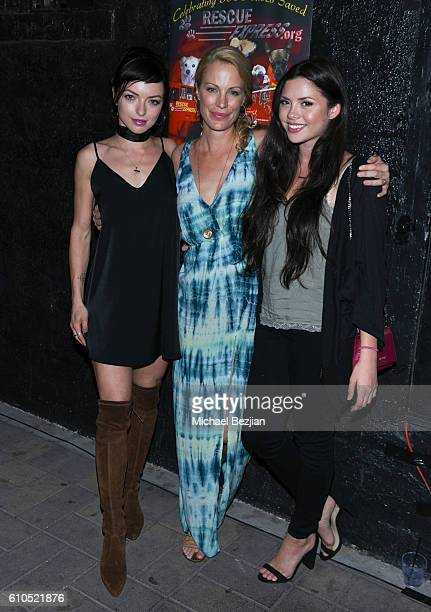 Francesca Eastwood Alison Eastwood and Morgan Eastwood at Alison Eastwood And Linda Carel Host Private Reception For Rescue Express at Velvet...
