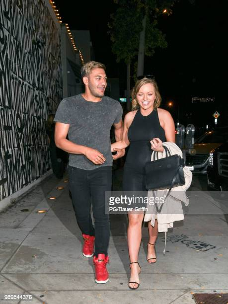 Francesca Eastwood and Alexander Wraith are seen on July 01 2018 in Los Angeles California