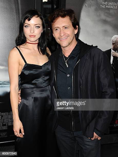 Francesca Eastwood and Clifton Collins Jr attend a screening of Sully at Directors Guild Of America on September 8 2016 in Los Angeles California