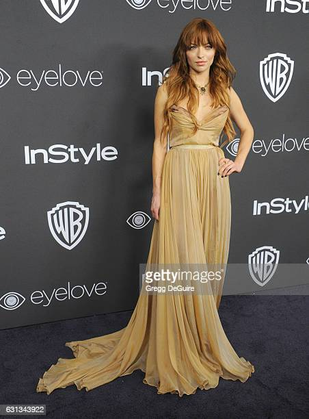 Francesca Eastwood arrives at the 18th Annual PostGolden Globes Party hosted by Warner Bros Pictures and InStyle at The Beverly Hilton Hotel on...