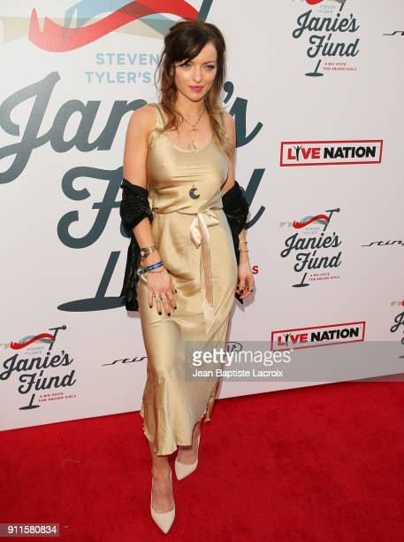 Francesca Eastwood at Steven Tyler and Live Nation presents Inaugural Janie's Fund Gala GRAMMY Viewing Party at Red Studios on January 28 2018 in Los...