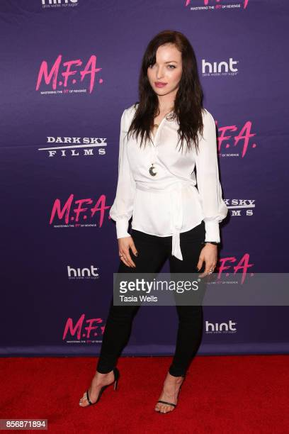 Francesca Eastwood at the premiere of Dark Sky Films' 'MFA' at The London West Hollywood on October 2 2017 in West Hollywood California