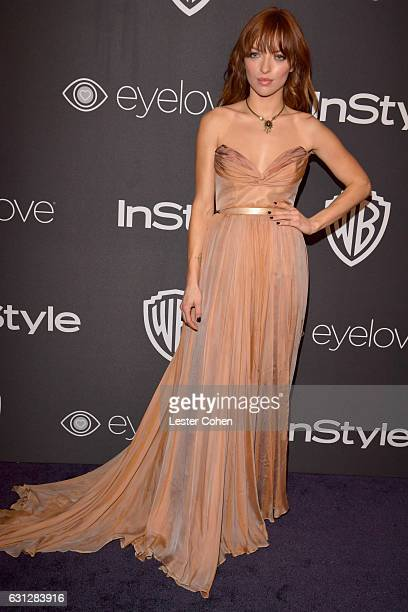 Francesca Eastwood attends the 18th Annual PostGolden Globes Party hosted by Warner Bros Pictures and InStyle at The Beverly Hilton Hotel on January...