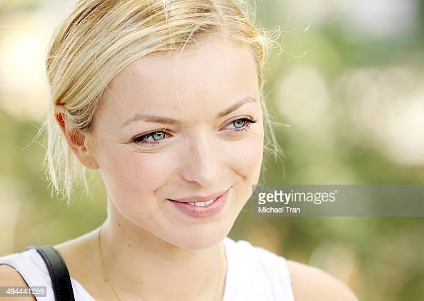 Francesca Eastwood attends The Environmental Media Association's 5th Annual LA School Garden Program Luncheon held at Westminster Avenue Elementary...