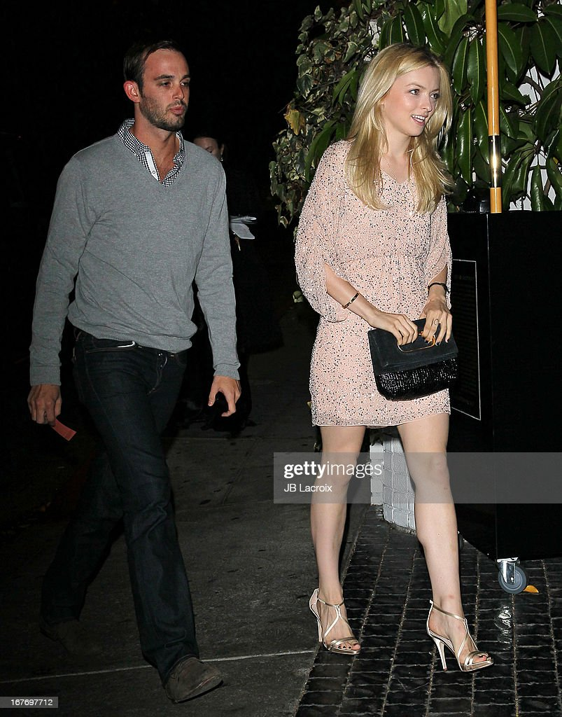 Francesca Eastwood is seen at Chateau Marmont on April 27, 2013 in Los Angeles, California.