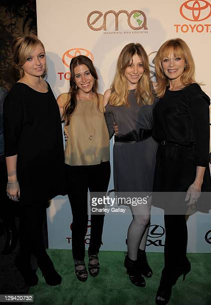 Francesca FisherEastwood Bari Milken Bernstein Alexx Jae Monkarsh and actress Frances Fisher arrive at the 20th Annual Environmental Media Awards...
