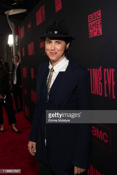 Francesca Gregorini attends the premiere of BBC America and AMC's 'Killing Eve' at ArcLight Hollywood on April 01, 2019 in Hollywood, California.