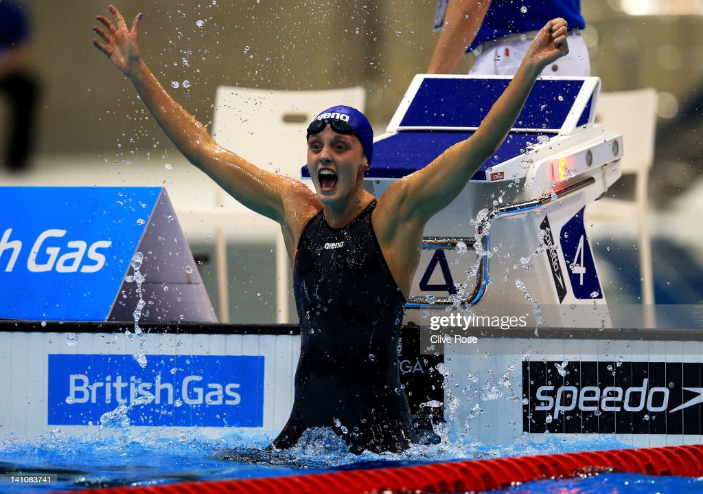 British Gas Swimming Championships - LOCOG Test Event for London 2012: Day Eight : News Photo