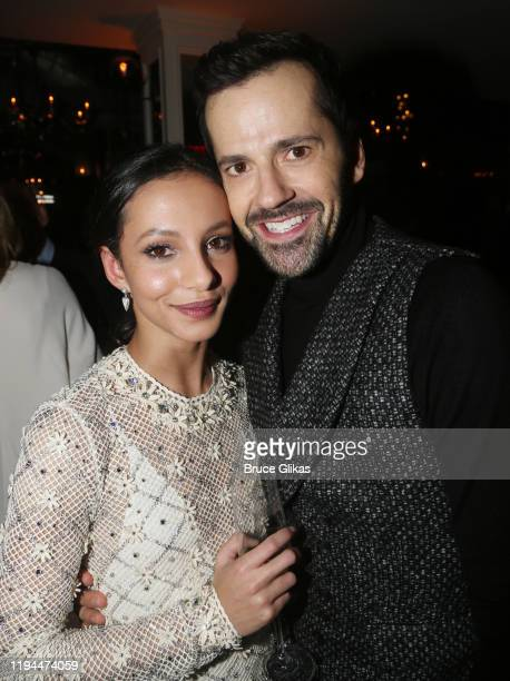 Francesca Hayward and Robert Fairchild pose at the after party for The World Premiere of the new film Cats based on the Andrew Lloyd Webber musical...