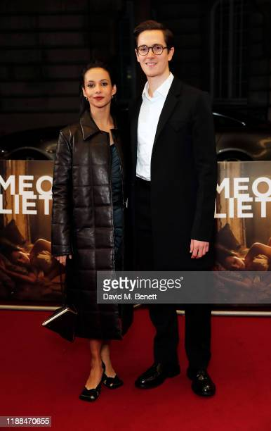 """Francesca Hayward and William Bracewell attend the World Premiere of """"Romeo & Juliet: Beyond Words"""" at The Curzon Mayfair on November 18, 2019 in..."""