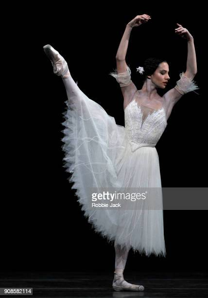Francesca Hayward as Giselle in the Royal Ballet's production of Peter Wright's adaptation of Marius Petipa's Giselle at The Royal Opera House on...