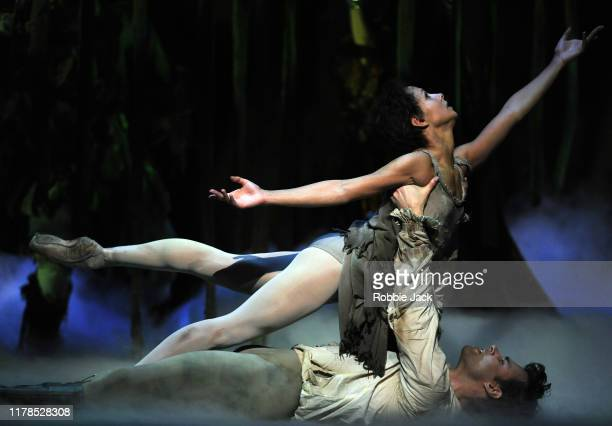 Francesca Hayward as Manon and Alexander Campbell as Les Grieux in Kenneth MacMillan's Manon at The Royal Opera House on October 1 2019 in London...