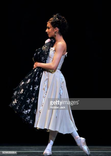 Francesca Hayward as Manon in the Royal Ballet's production of Kenneth MacMillan's Manon at the Royal Opera House on March 27 2018 in London England