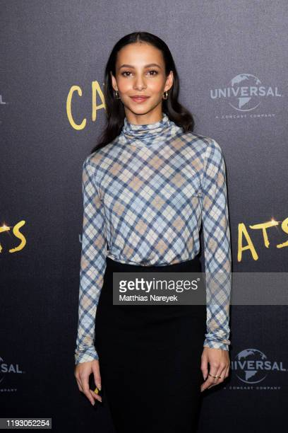 Francesca Hayward at the photo call for the movie CATS at Soho House on December 10 2019 in Berlin Germany