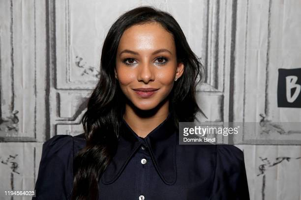 Francesca Hayward attends the Build Series to discuss 'Cats' at Build Studio on December 17 2019 in New York City