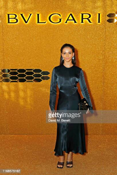 Francesca Hayward attends the Bvlgari Serpenti Seduttori launch at the Roundhouse on September 15 2019 in London England