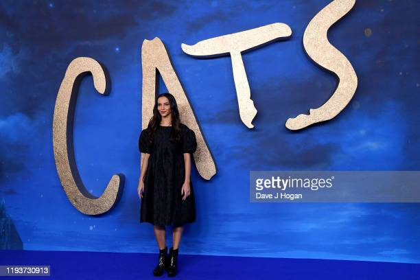 Francesca Hayward attends the Cats photocall at The Corinthia Hotel on December 13 2019 in London England