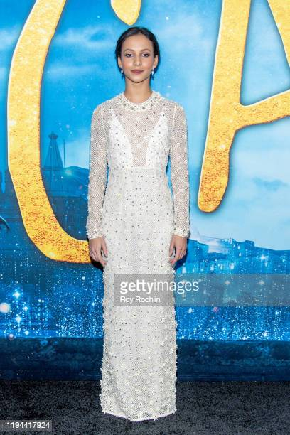 """Francesca Hayward attends the """"Cats"""" World Premiere at Alice Tully Hall, Lincoln Center on December 16, 2019 in New York City."""