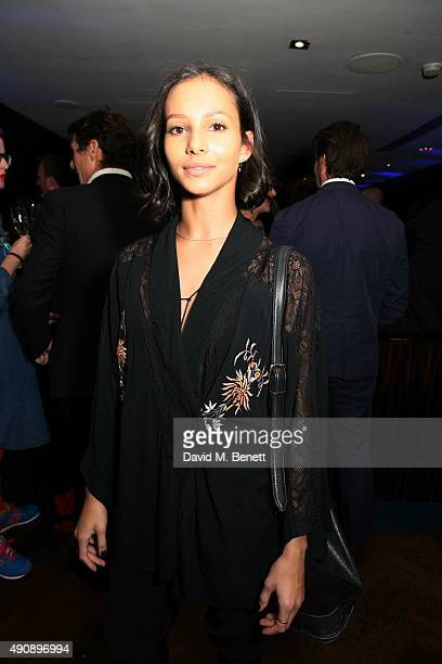 Francesca Hayward attends the h100 Awards dinner at The Hospital Club on October 1 2015 in London England