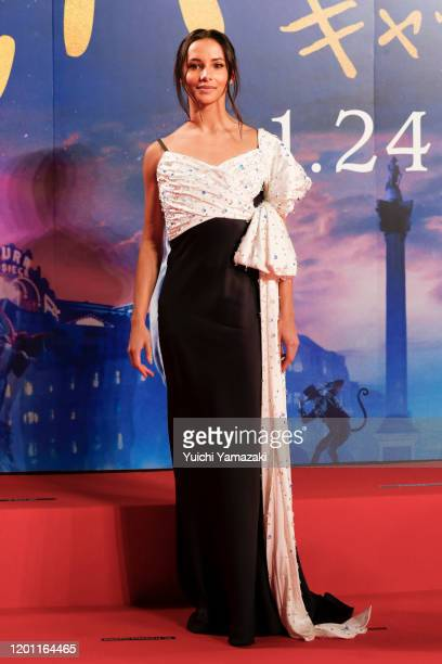 Francesca Hayward attends the Japan premiere of 'Cats' at Roppongi Hills on January 22 2020 in Tokyo Japan