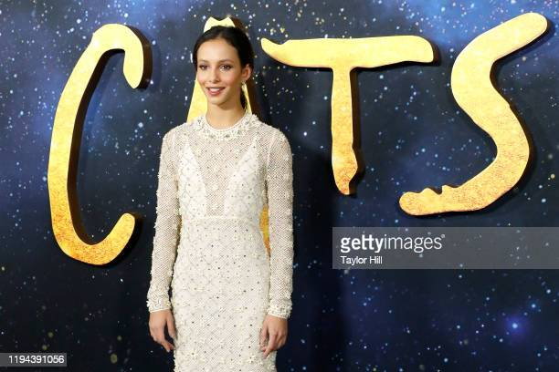 Francesca Hayward attends the world premiere of Cats at Alice Tully Hall Lincoln Center on December 16 2019 in New York City