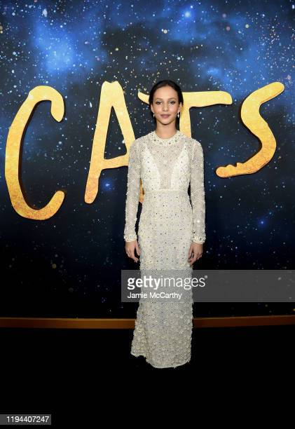Francesca Hayward attends The World Premiere of Cats presented by Universal Pictures on December 16 2019 in New York City