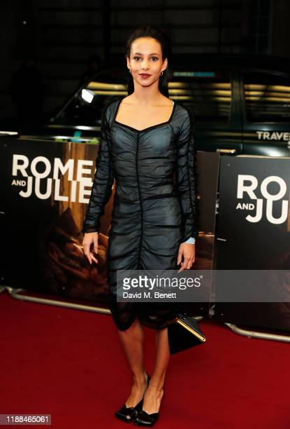 Francesca Hayward attends the World Premiere of Romeo Juliet Beyond Words at The Curzon Mayfair on November 18 2019 in London England