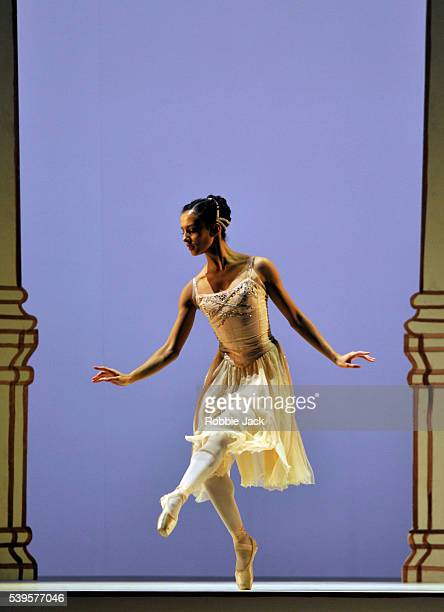 Francesca Hayward in the Royal Ballet's production of Frederick Ashton's Rhapsody at the Royal Opera House Covent Garden in London