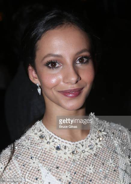 Francesca Hayward poses at the after party for The World Premiere of the new film Cats based on the Andrew Lloyd Webber musical at Tavern On The...