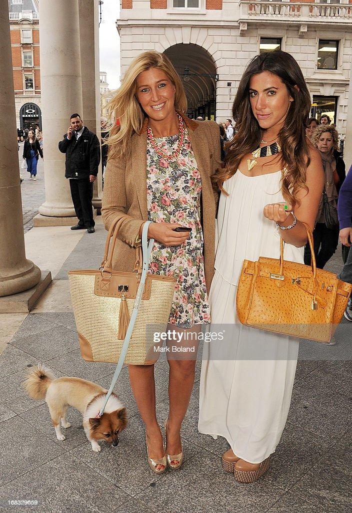 Francesca Hull & Gabriella Ellis Sighting In London - May 8, 2013