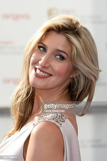 Francesca Hull attends The Arqiva British Academy Television Awards 2012 at The Royal Festival Hall on May 27 2012 in London England