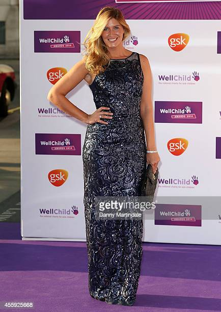 Francesca Hull attends the WellChild Awards at London Hilton on September 22 2014 in London England