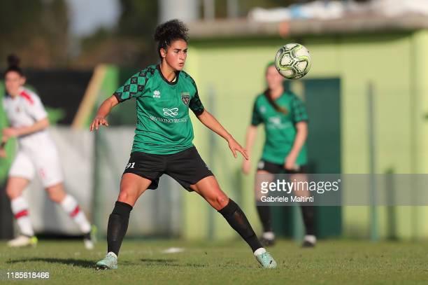 Francesca Imprezzabile of Florentina San Gimignano Women in action during the Women Serie A match between Florentia and AC Milan on November 30 2019...
