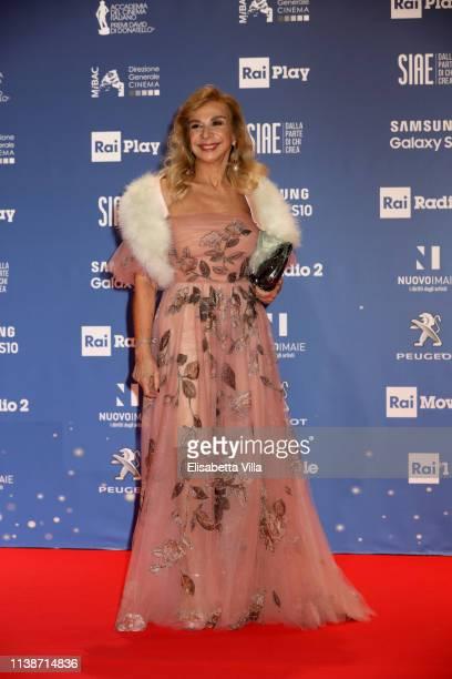 Francesca Lo Schiavo attends the 64 David Di Donatello awards on March 27 2019 in Rome Italy