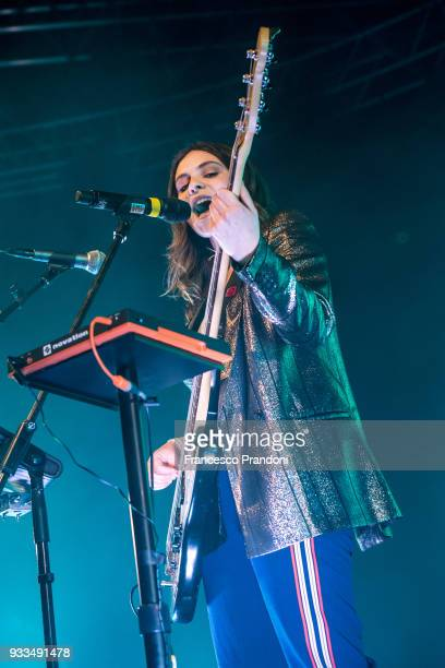 Francesca Michielin performs on stage at fabrique on March 17 2018 in Milan Italy